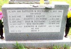 Marie S <I>Lagasse</I> Ducharme