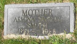 Armina <I>Simpson</I> Smith