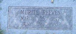 Muriel Reeves