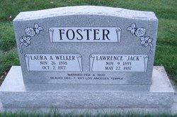 Laura Agnes <I>Welker</I> Foster