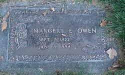 Margery Evelyn <I>Wassmer</I> Owen