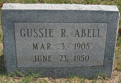 Gussie Rae Abell
