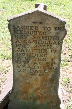Rev Samuel Alexander Cashdollar