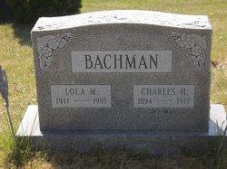 Lola M Bachman