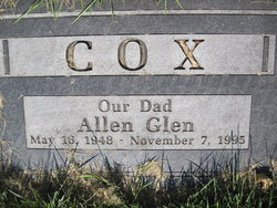 Allen Glen Cox