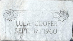 Lula May Cooper