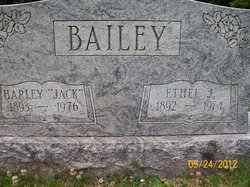 "Harley Clarence ""Jack"" Bailey"