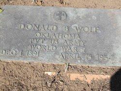 Donald B Wolf