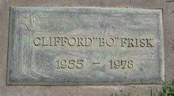 "Clifford Oscar ""Bo"" Frisk, Jr"