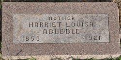 Harriett Louisa <I>King</I> Aduddle