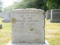 Adeline Elizabeth <I>Lariviere</I> Benoit
