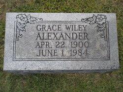 "Grace Pauline ""Auntie Grace"" <I>Wiley</I> Alexander"