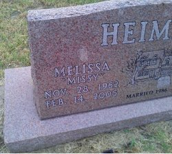 """Melissa Dawn """"Missy"""" <I>Herring</I> Heiman"""
