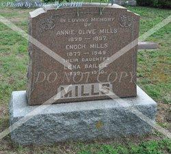 Annie Olive <I>Beamer</I> Mills