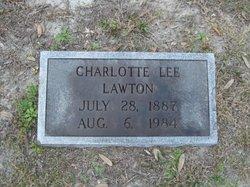 "Charlotte ""Lottie"" <I>Lee</I> Lawton"