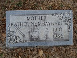 Katherine Worth <I>Melton</I> Baynard