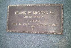 Frank W Brooks, Sr