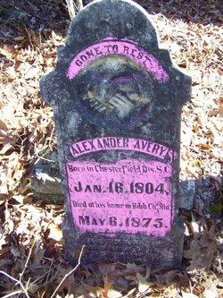 Alexander Ray Avery, Sr