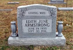 Edith June <I>Stowe</I> Armstrong