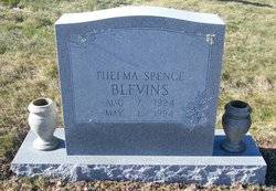 Thelma Mae <I>Spence</I> Blevins