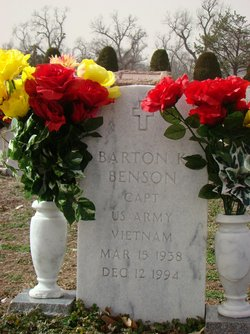 Capt Barton K. Benson