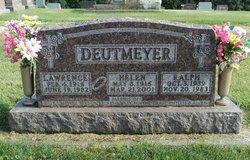 Helen Henrietta <I>Loeffelholz</I> Deutmeyer