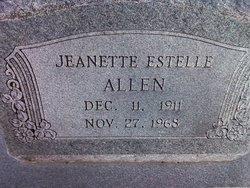 Jeanette Estelle Allen
