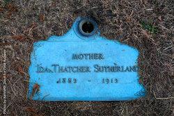 Ida <I>Thatcher</I> Sutherland