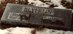 Mary Polly <I>Everhart</I> Beverlin
