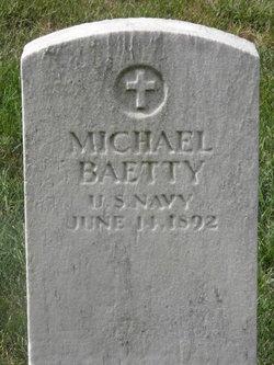 SN Michael Baetty