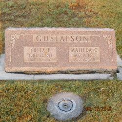 Maltilda Charlotte <I>Erickson</I> Gustafson