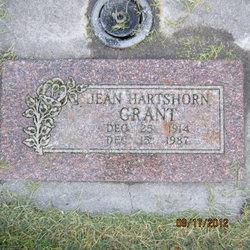 """Geneva Henrietta """"Jean"""" <I>Hartshorn</I> Grant"""