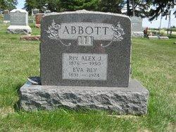 Rev Alexander James Abbott