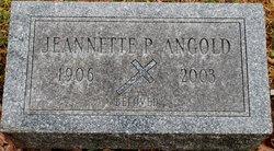 Jeanette Pauline <I>Loos</I> Angold