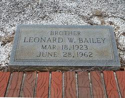 Leonard William Bailey