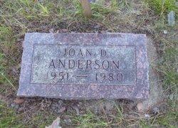 Joan <I>Dickinson</I> Anderson