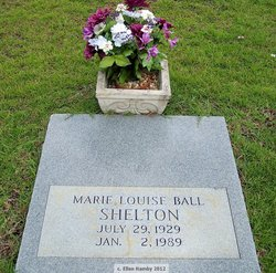 Marie Louise <I>Ball</I> Shelton