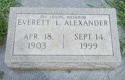 Everett L Alexander