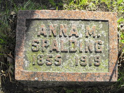 Anna May <I>Spurr</I> Spalding