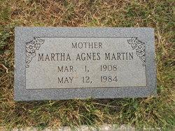 Martha Agnes <I>Lancaster</I> Martin