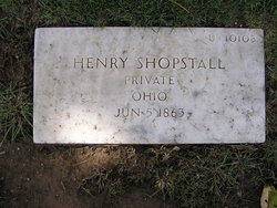 Pvt Henry Shopstall
