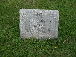 Wilhelmina S Bosen