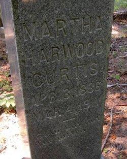 Martha <I>Harwood</I> Curtis