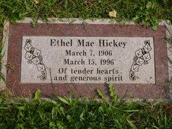 Ethel Mae <I>Juffs</I> Hickey