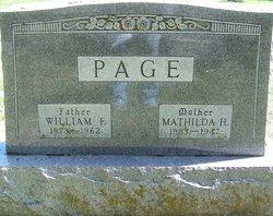 William Fredrick Page