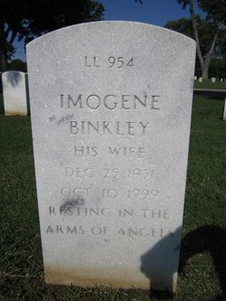 Imogene <I>Christian</I> Binkley