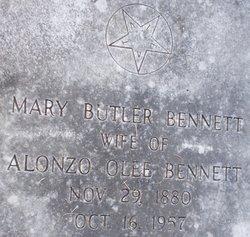 Mary <I>Butler</I> Bennett