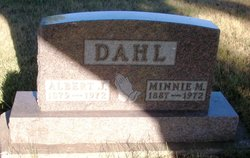 Minnie Mathilda <I>Dahlgren</I> Dahl