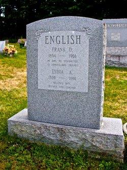 Lydia A <I>Cole</I> English