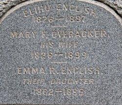 Mary F <I>Overacker</I> English